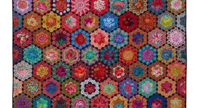Glorious Garden Quilt - Cutting Tips   Kim Mclean Designs